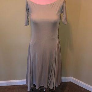 Ralph Lauren black label silver/ grey dress
